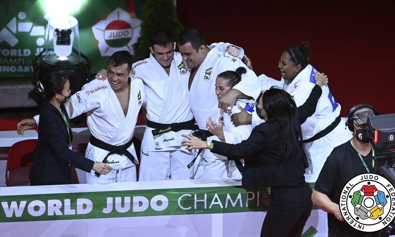 brasill_judo_bronze_mundial_equipe | Foto: Jensen Lars Moeller / IJF