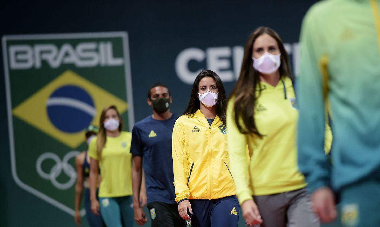 Uniformes do Brasil para Olimpíadas de Tóquio | Foto: Alexandre Loureiro/COB
