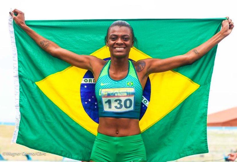 Chayanne Pereira superou marcas nacional e sul-americana sub-23 | Foto: Wagner Carmo/CBAt