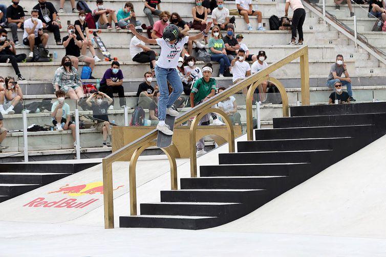 Rayssa Leal, de 13 anos, fatura bronze no Mundial de Street - Olimpia Sports