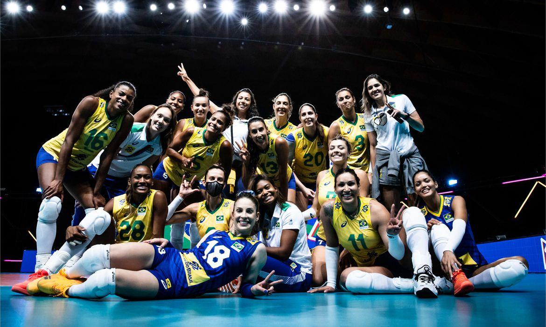 selecao_volei_feminino_liga_das_nacoes | Foto: Divulgação / FIVB