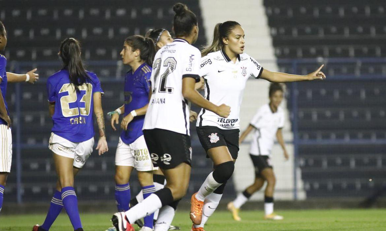 Corinthians x Cruzeiro Brasileirão Feminino 2021   Foto: Rodrigo Gazzenel / Agência Corinthians