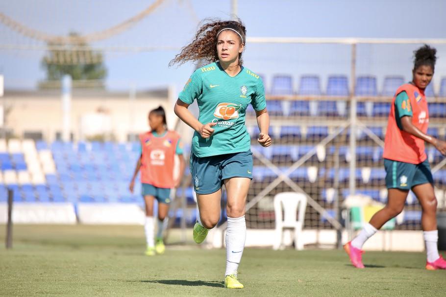 Pia Sundhage comanda primeiro treino da Seleção Feminina Principal com grupo completo. Angelina. Créditos: Carolina Brito/CBF