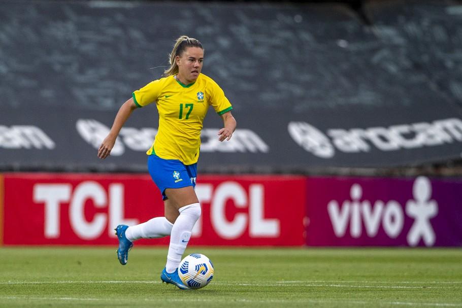 Jogo Preparatório Seleção Feminina Principal - Brasil x Canadá - 14/06/2021. Andressinha. Créditos: Richard Callis/SPP/CBF