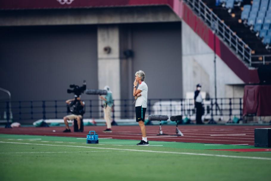 Brasil e Canadá fizeram uma das quartas de final do torneio de futebol feminino na Olimpíada de Tóquio 2020 Créditos: Sam Robles/CBF
