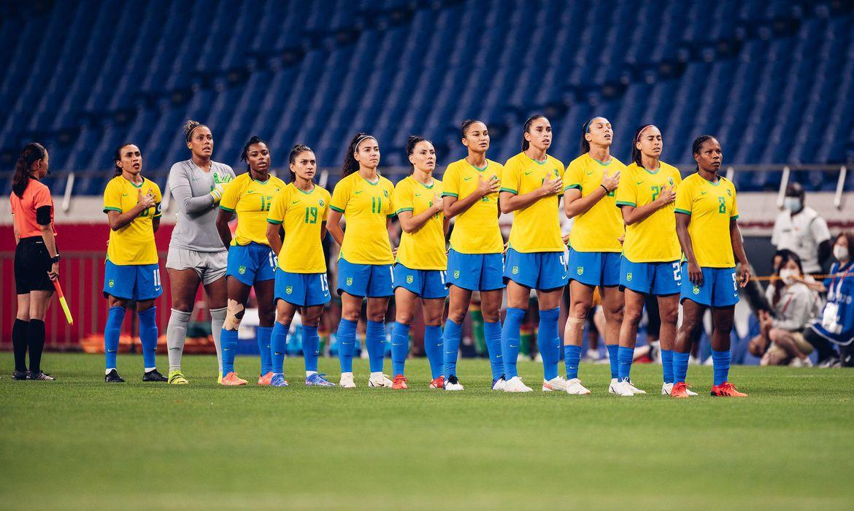 seleção brasileira Tóquio Sam Robles / CBF