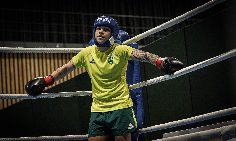 boxeadora Bia Ferreira Foto: Rafael Bello / COB
