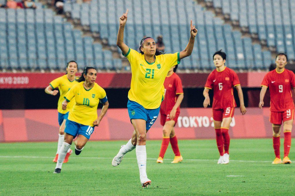 Pia Sundhage vê Seleção compacta e aprova goleada sobre a China: 'Foi um bom começo' - Olimpia Sports