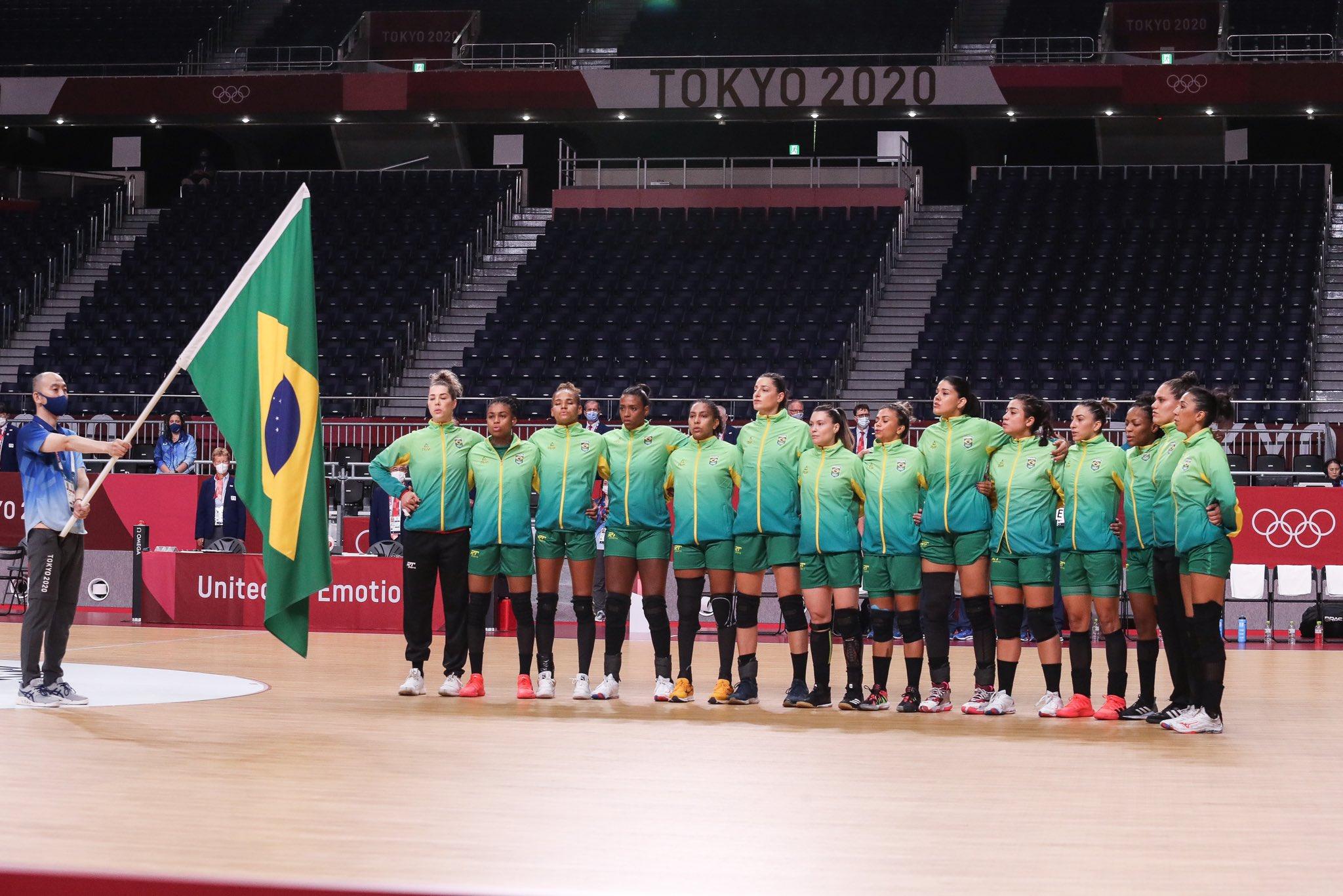 Seleção Brasileira de Handebol   Foto: Wander Roberto/COB