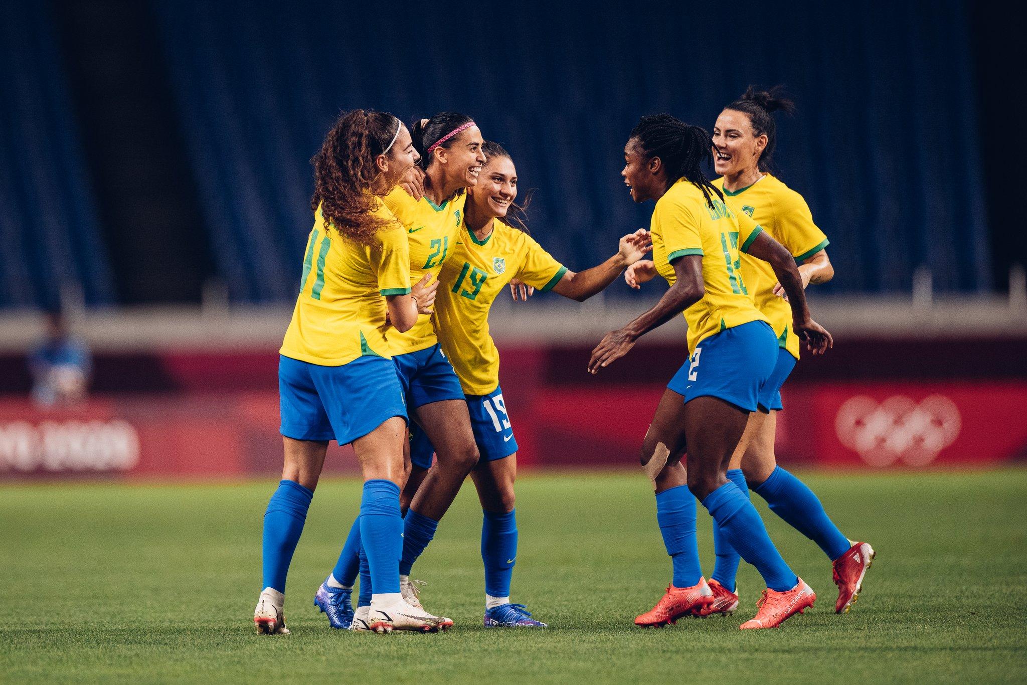 Gol do Brasil foi marcado por Andressa Alves. Foto: Sam Robles/CBF