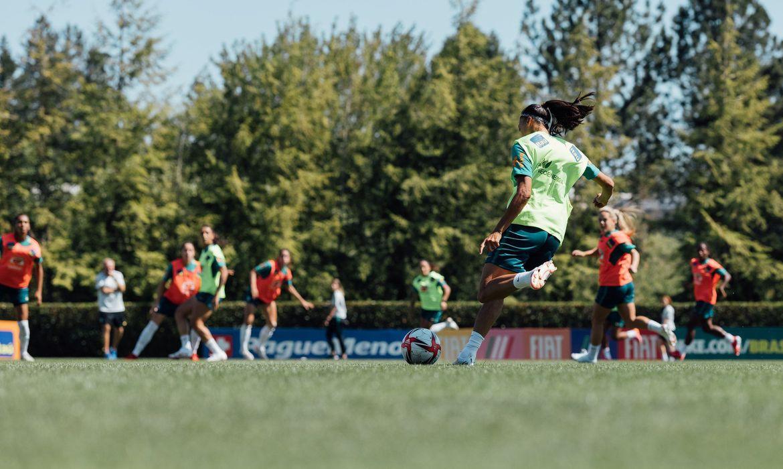Treino Seleção Portland | Foto: Sam Robles / CBF