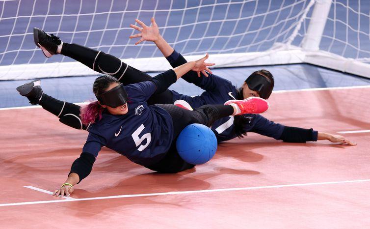 Tóquio 2020 Paralimpiada - Goalball - LISI NIESNER