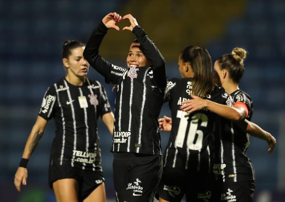 Avaí/Kindermann x Corinthians - Quartas de Final Brasileirão Feminino Neoenergia Créditos: Luiza Moraes - Staff Images Woman/CBF