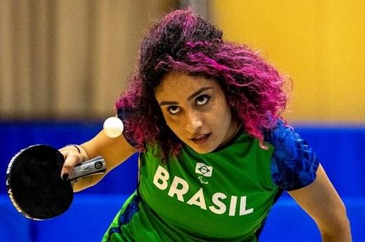 Millena França treina em Hanmamatsu. Ela terá a primeira experiência em Paralimpíadas. Foto: Ale Cabral/CPB