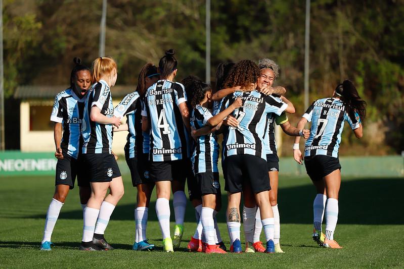 Grêmio x Palmeiras Quartas de Final Brasileirão Feminino Neoenergia   Grêmio 2x1 Palmeiras (BR Feminino) Fotos: Maxi Franzoi / Grêmio FBPA