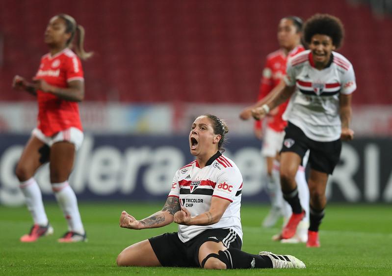 Internacional x São Paulo - quartas de final brasileiro 2021 FOTO: Luiza Moraes / Staff images Woman / CBF