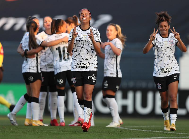22/08/2021 - Corinthians x Avaí Kindermann - Brasileirão Feminino Neoenergia A1 - Foto : Luiza Moraes / Staff Images Woman / CBF