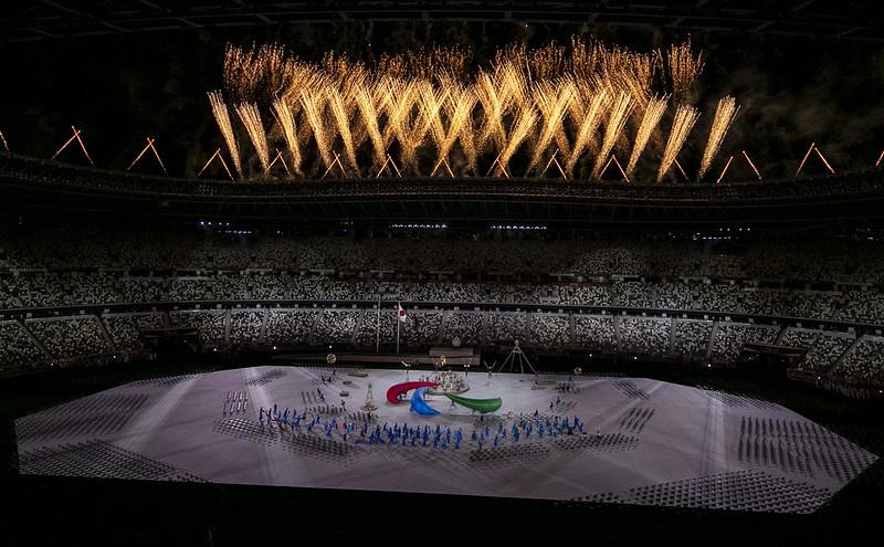 24.08.21 - Cerimônia de abertura dos Jogos Paralímpicos Tóquio 2020. Foto: Ale Cabral/CPB. @alecabral_ale