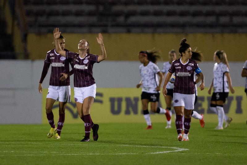 Yasmin empatou o jogo ainda no primeiro tempo de partida | Fotos : Rebeca Reis / Staff Images Woman / CBF