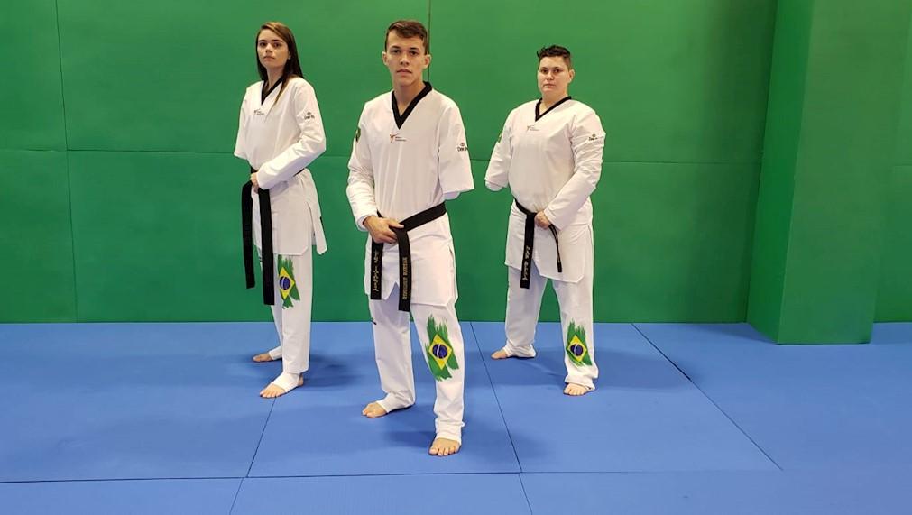 Silvana, Nathan e Débora serão os representantes brasileiros nos Jogos Paralímpicos de Tóquio/Foto: Arquivo pessoal