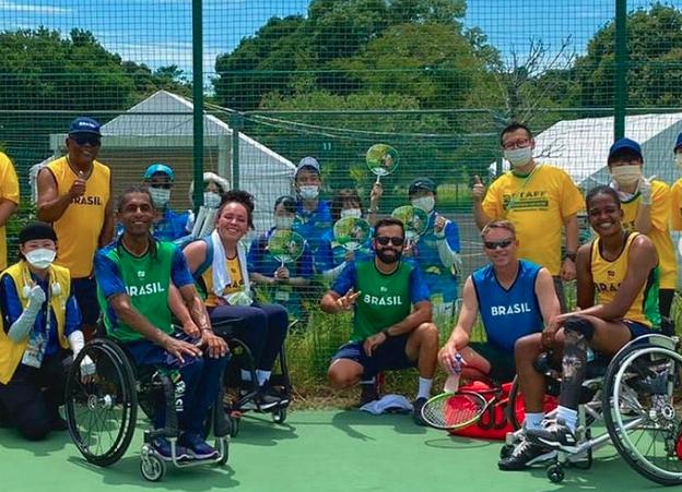 Brasil terá sete atletas na disputa do Tênis em cadeira de rodas | Foto: Reprodução / Instagram åç