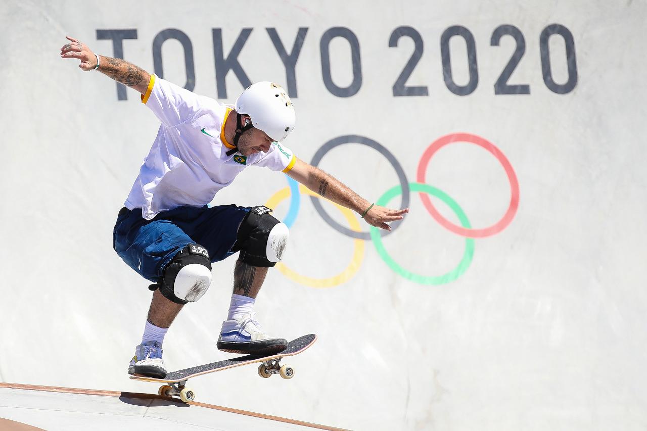 Pedro Barros Prata em Tóquio 2020 Jogos Olímpicos Gaspar Nóbrega/COB