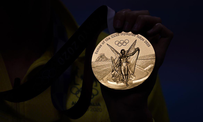 Medalha Olimpíadas de Tóquio   Foto: Jonne Roriz / COB