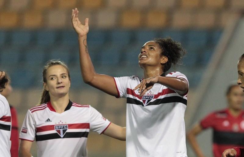Duda (D) é o grande nome tricolor no Brasileirão/Foto: Rubens Chiri/São Paulo