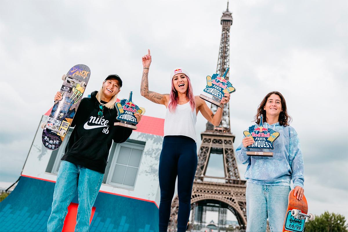 Letícia Bufoni Red Bull Paris Conquest 2021   Foto: Divulgação / CBSK
