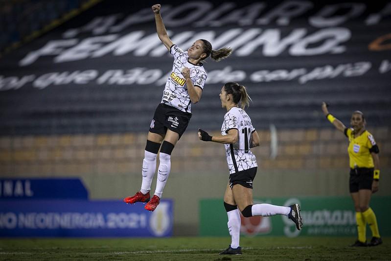 Corinthians e Ferroviária se enfrentam pelo jogo de volta da semifinal do Brasileirão Feminino Neoenergia Créditos: Cristiane Mattos / Staff images Woman / CBF