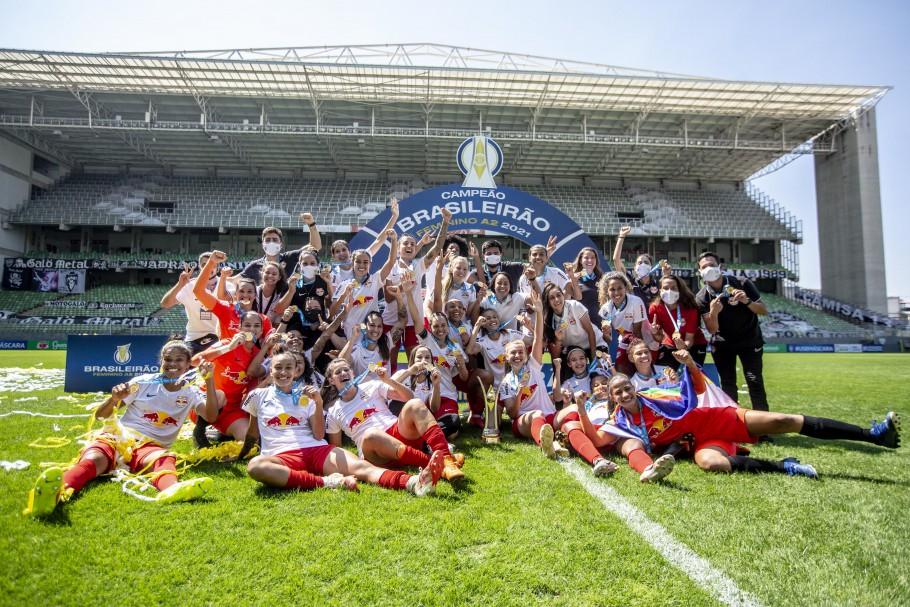 Atlético-MG e Red Bull Bragantino duelaram no Independência pelo título do Brasileiro Feminino A2 Créditos: Cristiane Mattos / Staff Images Woman / CBF