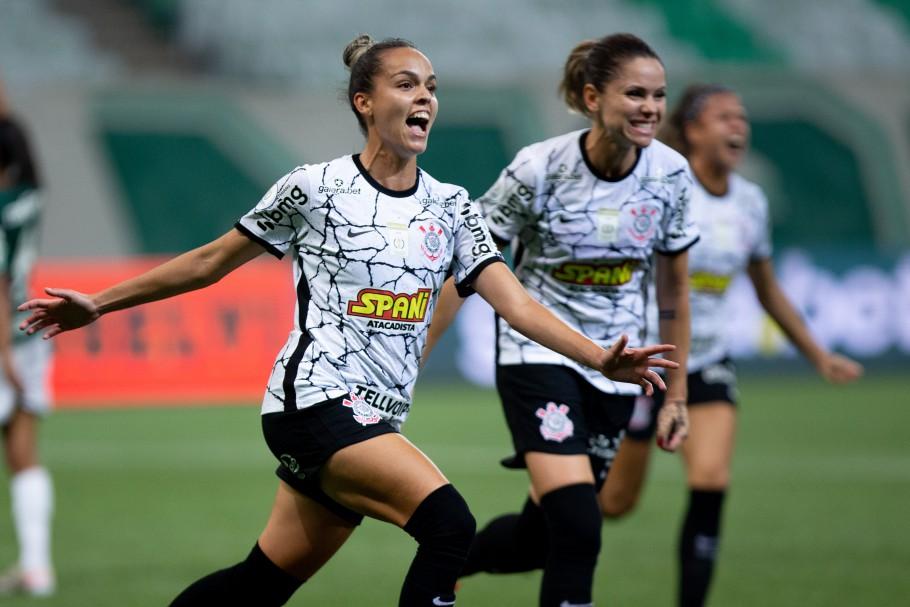 Final do Brasileiro Feminino Neoenergia 2021 - Palmeiras x Corinthians - Jogo de Ida Créditos: Rebeca Reis e Livia Villas Boas / Staff Images Woman / CBF
