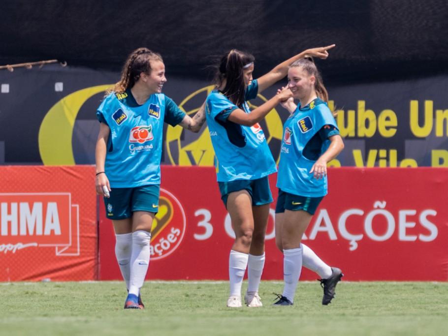 Seleção Brasileira Sub-20 Créditos: Júlio César Silva/CBF