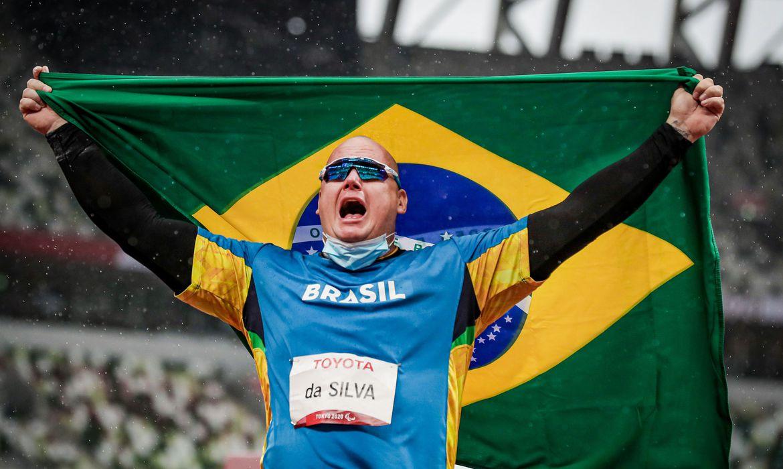 02.09.21 - ALESSANDRO RODRIGO DA SILVA - Atletismo - Lançamento de Disco - Jogos Paralímpicos de Tóquio 2020 - Estádio Olímpico - Foto: Wander Roberto/CPB @wander_imagem