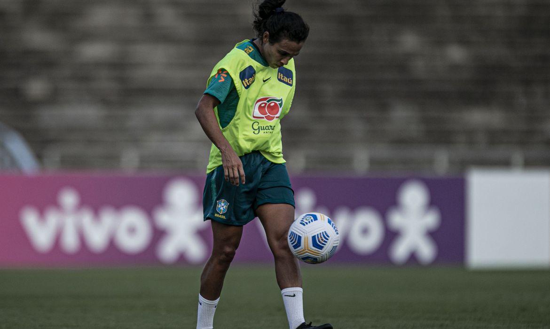 Marta | Foto: Talita Gouvêa / CBF