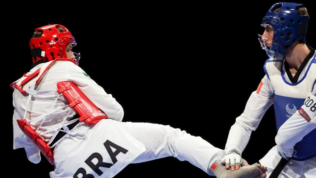 Nathan Torquato ficou com a medalha de ouro na classe K44 até 61kg/Foto: Rogério Capela/CPB