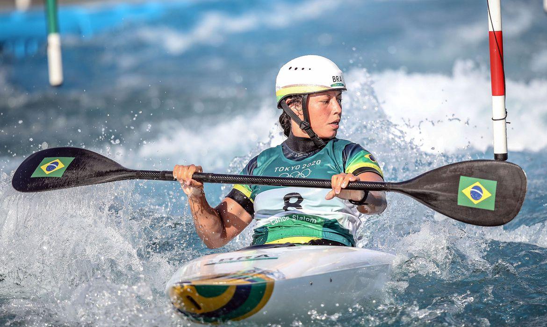 Ana Sátila Canoagem Slalom | Foto Gaspar Nóbrega / COB