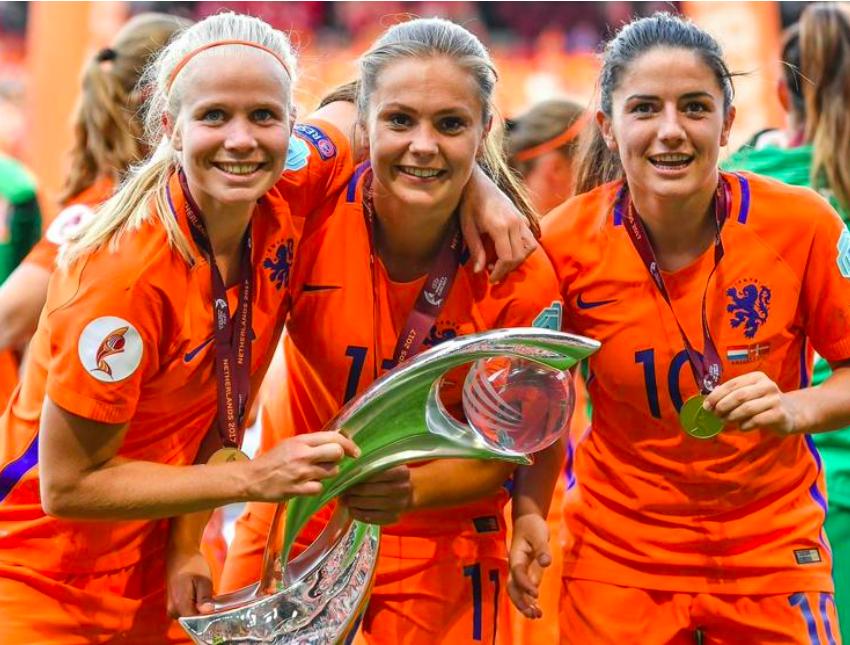 The Netherlands won UEFA Women's EURO 2017 ©Sportsfile