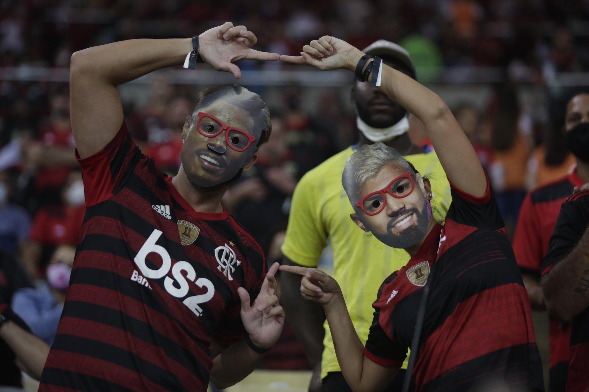 Flamengo torcida Foto: Gilvan de Souza / CRF
