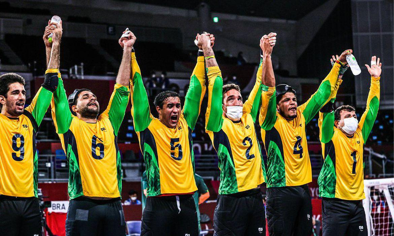 goalball_ouro_masculino | Reprodução Twitter / CPB