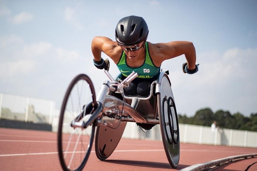 Aline Rocha ficou a três minutos do Índice A estabelecido pelo CPB para os Jogos Paralímpicos de Tóquio. Foto: Daniel Zappe/CPB/MPIX