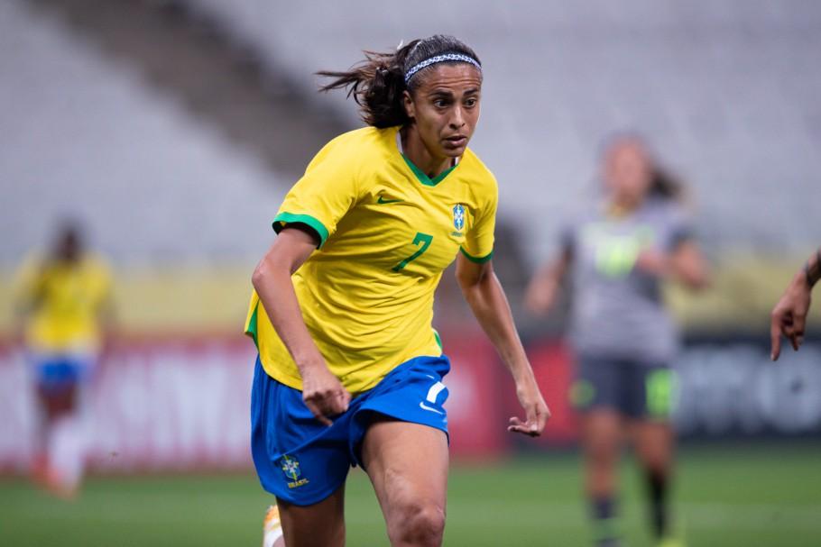Brasil x Equador - Jogos preparatórios da Seleção Brasileira Feminina Principal - 27/11/2020. Andressa Alves Créditos: Mariana Sá / CBF