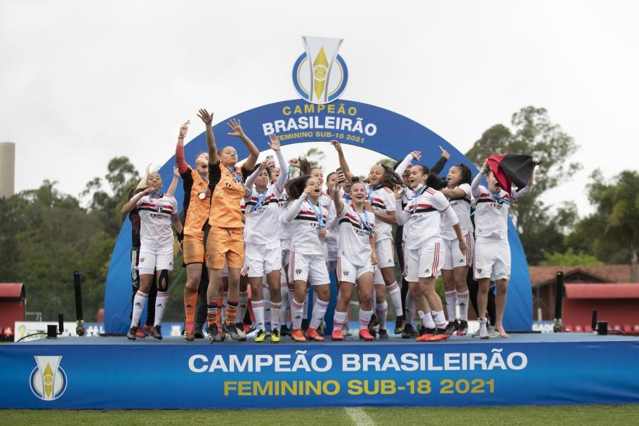 Final do Campeonato Brasileiro Feminino Sub-18: São Paulo x Corinthians Créditos: Thais Magalhães/CBF