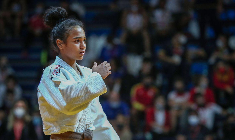 Rafaela Batista ganha quatro das cinco lutas disputadas na Itália   Foto: Marina Mayorova / IJF