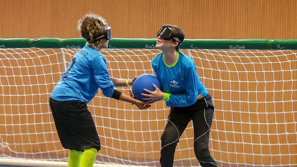 Aulas da Escola Paralímpica de Esportes do CPB retornam nesta segunda-feira, 4, após um ano e meio sem aulas. Foto: Daniel Zappe/CPB/MPIX