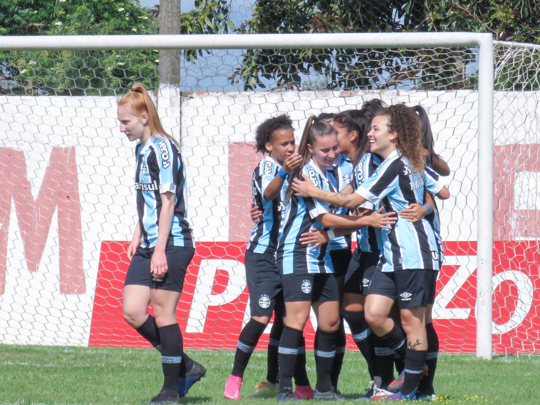 Gurias Gremistas fazem 17 x 0 no Guarany de Bagé pelo Gauchão Feminino 2021   Fotos: Sérgio Galvani / Grêmio